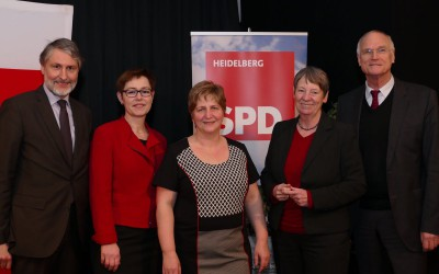 Bundesumweltministerin Barbara Hendricks zu Gast