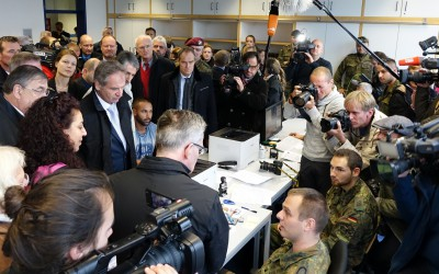 Innenminister de Maizière besucht das PHV Heidelberg