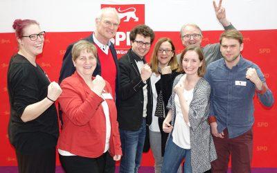Mit Rückenwind in den Wahlkampf – Topplatzierung für Lothar Binding