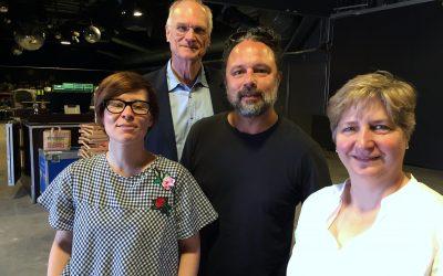 15 Jahre halle02 in Heidelberg – Lothar Binding macht Betriebsbesuch