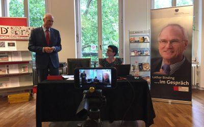 """""""Digitale Agenda"""" – Eine öffentliche Veranstaltung von Lothar Binding mit Saskia Esken, MdB aus Calw"""
