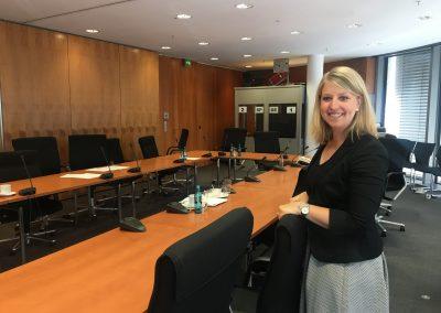 Julia in der AG Finanzen