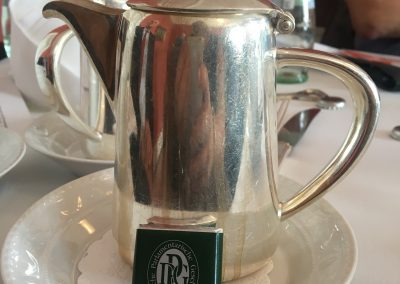 Kaffee in der Deutschen Parlamentarischen Gesellschaft