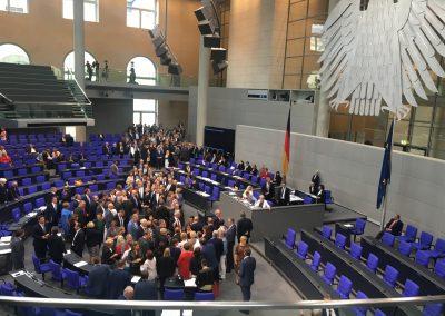 Volles Plenum: namentliche Abstimmung