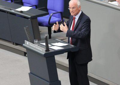 Lothar im Plenum