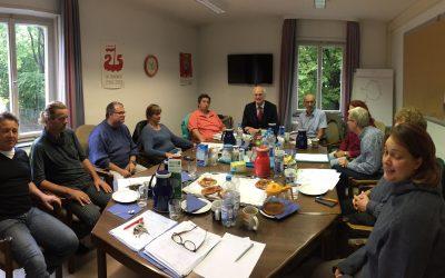 Lothar Binding im Gespräch mit den Personalräten der Unikliniken: Modernisierung und gute Arbeit gehören zusammen