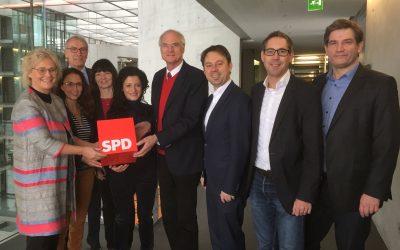 Lothar Binding zum finanzpolitischen Sprecher der SPD-Bundestagsfraktion gewählt